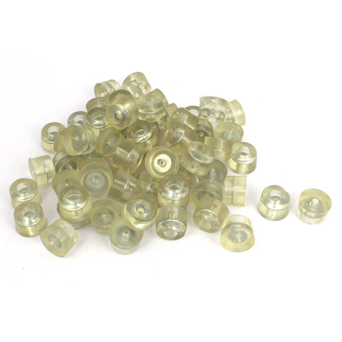 20mm Dia Anti-sliding Furniture Sofa Foot Pad Floor Protector 100pcs w Screws