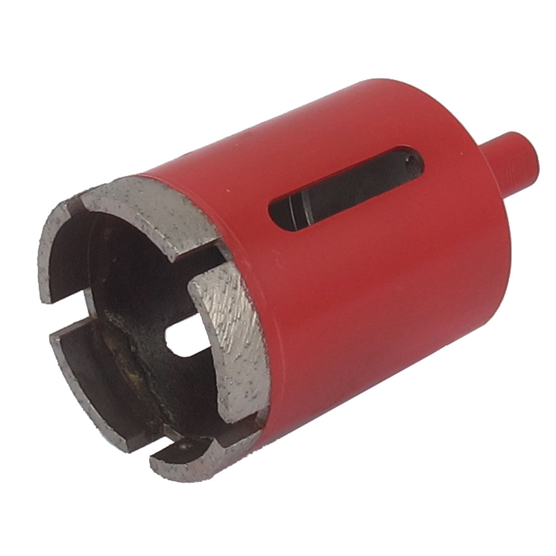 Red Housing 10mm Shank 45mm Dia Granite Marble Wet Dry Diamond Hole Saw Cutter
