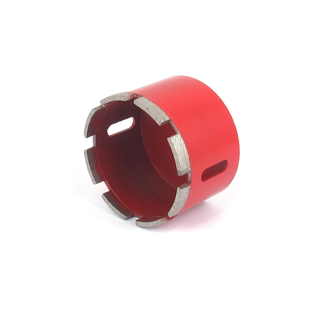 Red Housing 10mm Shank 80mm Dia Granite Marble Wet Dry Diamond Hole Saw Cutter