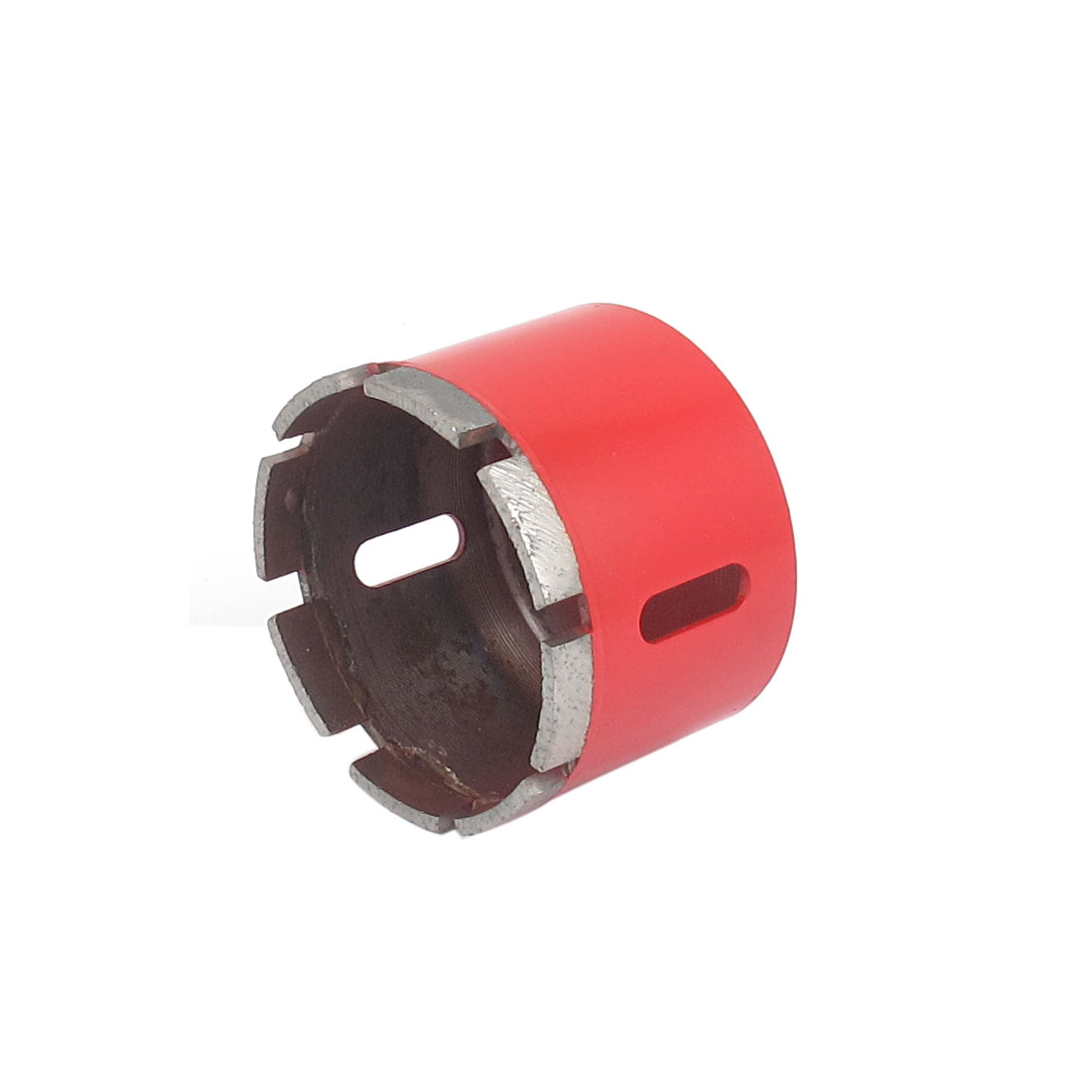 Red Housing 10mm Shank 75mm Dia Granite Marble Wet Dry Diamond Hole Saw Cutter