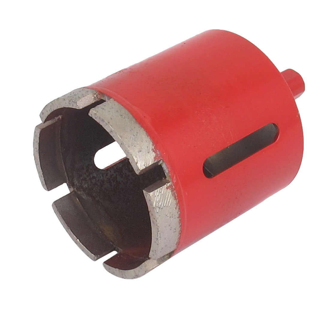 Red Housing 10mm Shank 55mm Dia Granite Marble Wet Dry Diamond Hole Saw Cutter