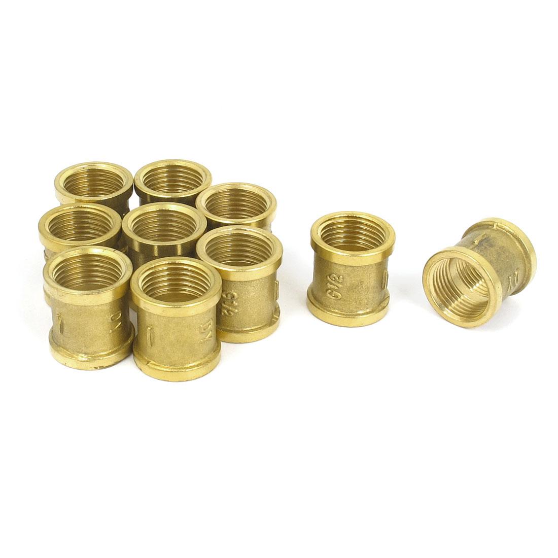 1/2BSP Female Thread Brass Quick Coupler Connector Adapter 26mm Long 10pcs