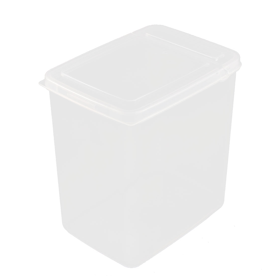 Home Plastic Food Storage Box Container 15cm x 11cm x 16cm 2L Clear