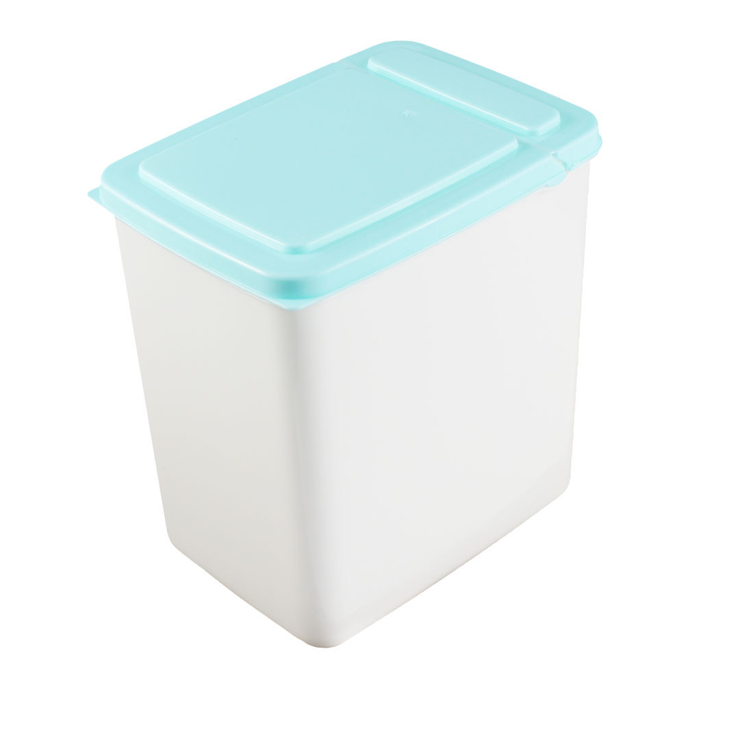 Home Plastic Cuboid Shaped Airtight Food Storage Box Container 2L Blue