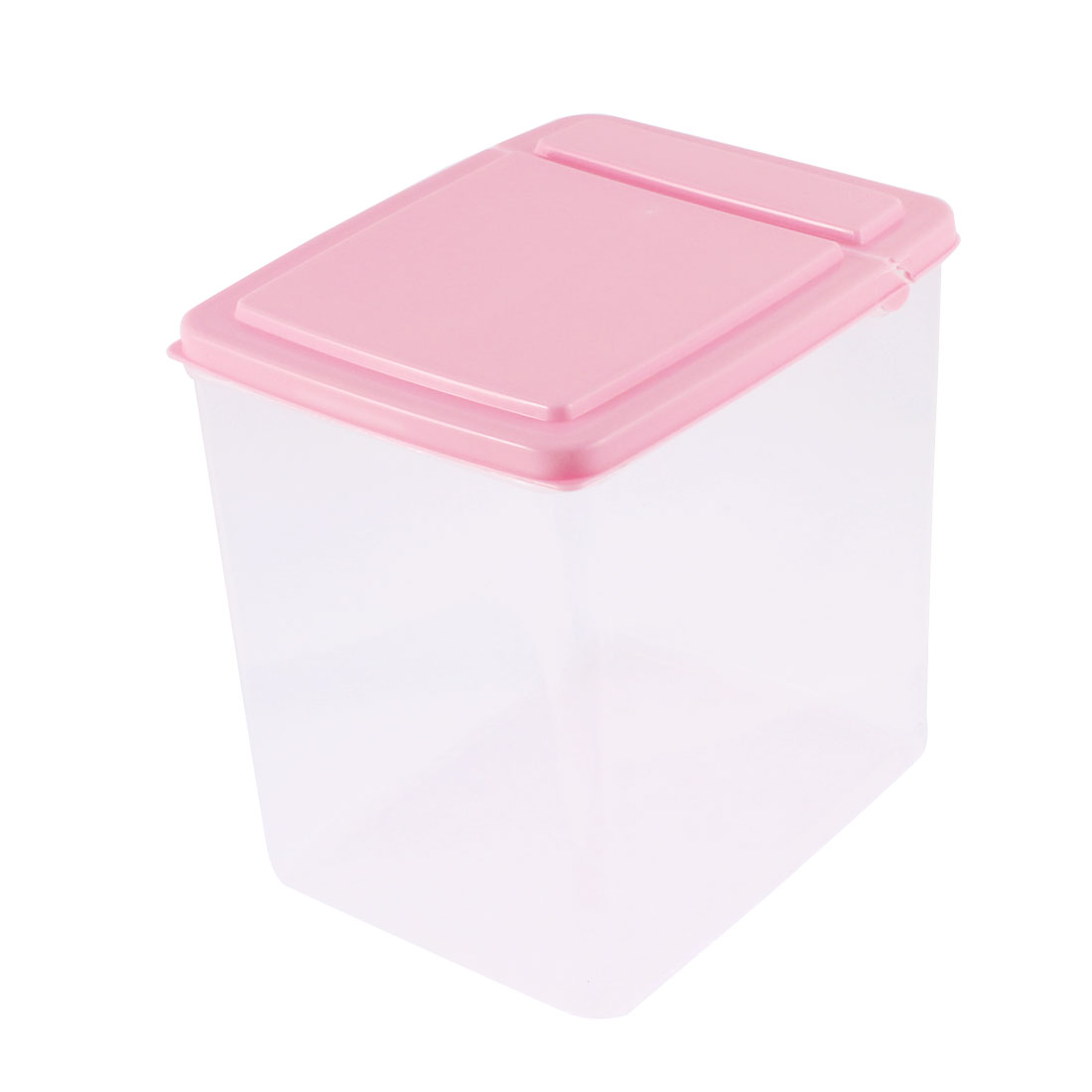 Kitchen Plastic Food Storage Box Container 165mmx125mmx160mm 2.6L Pink