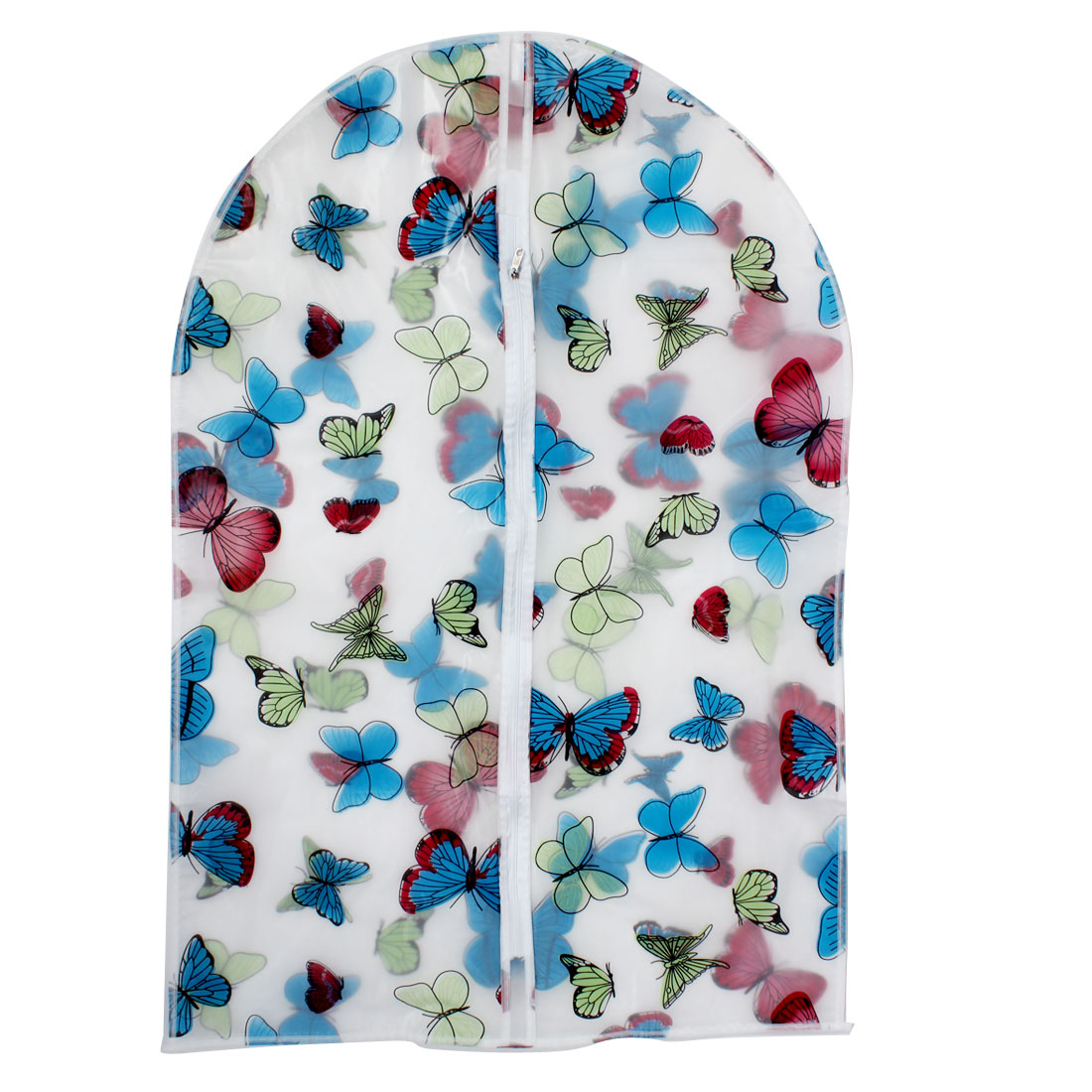 """Clothes Suit Garment PEVA Butterfly Pattern Dustproof Cover Bag 35"""" Length"""