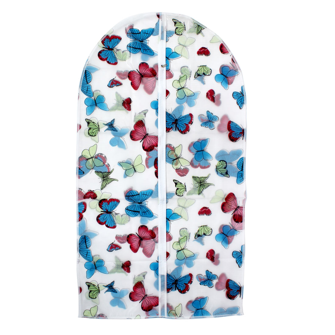 """Clothes Suit Garment PEVA Butterfly Printed Dustproof Cover Bag 43"""" Length"""