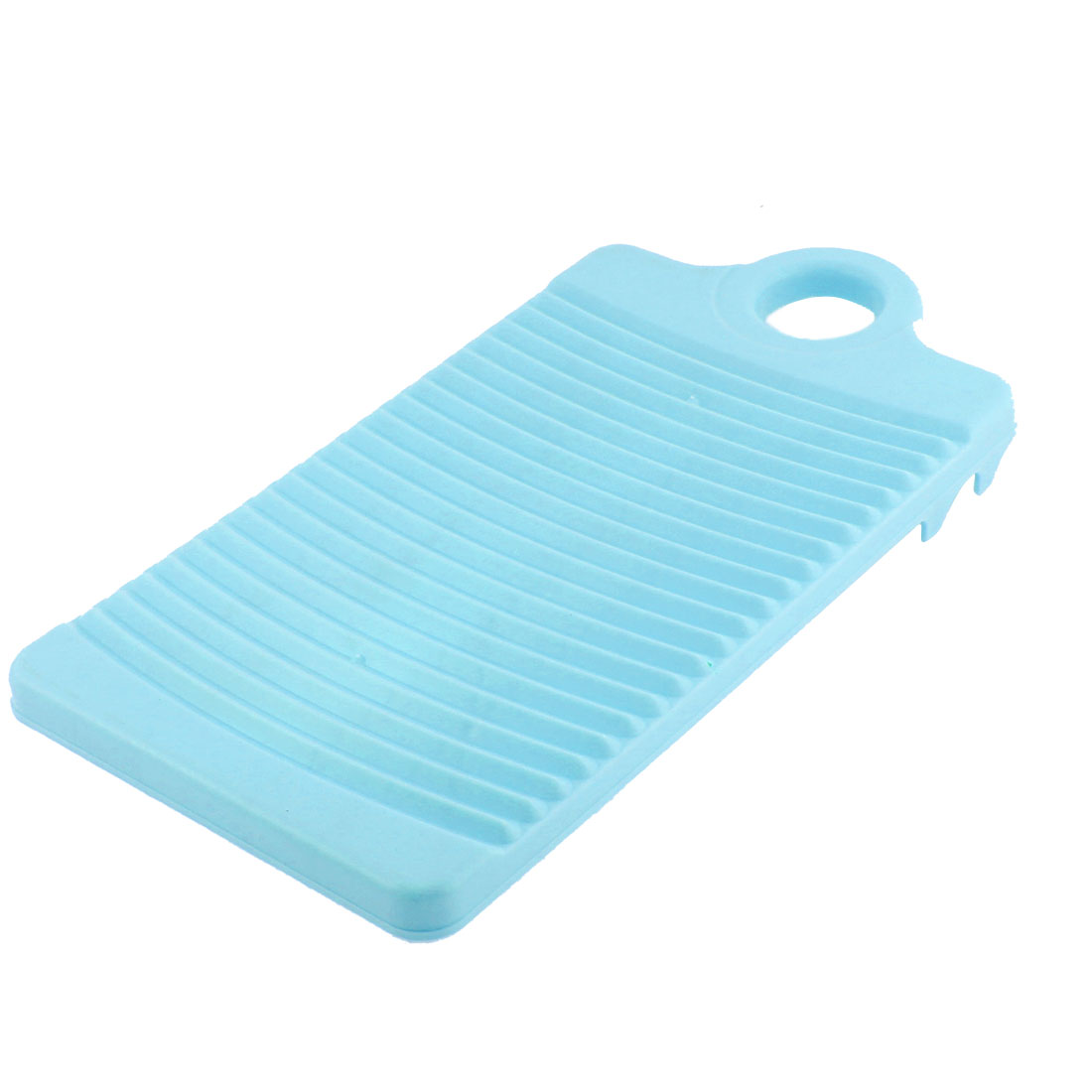 Plastic Rectangle Washboard Clothes Washing Board 315mm Length Light Green