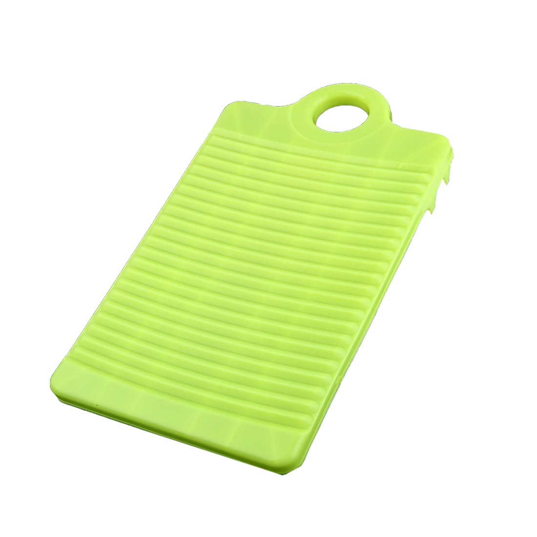 Household Plastic Washboard Clothes Washing Board 315mm Length Light Yellow