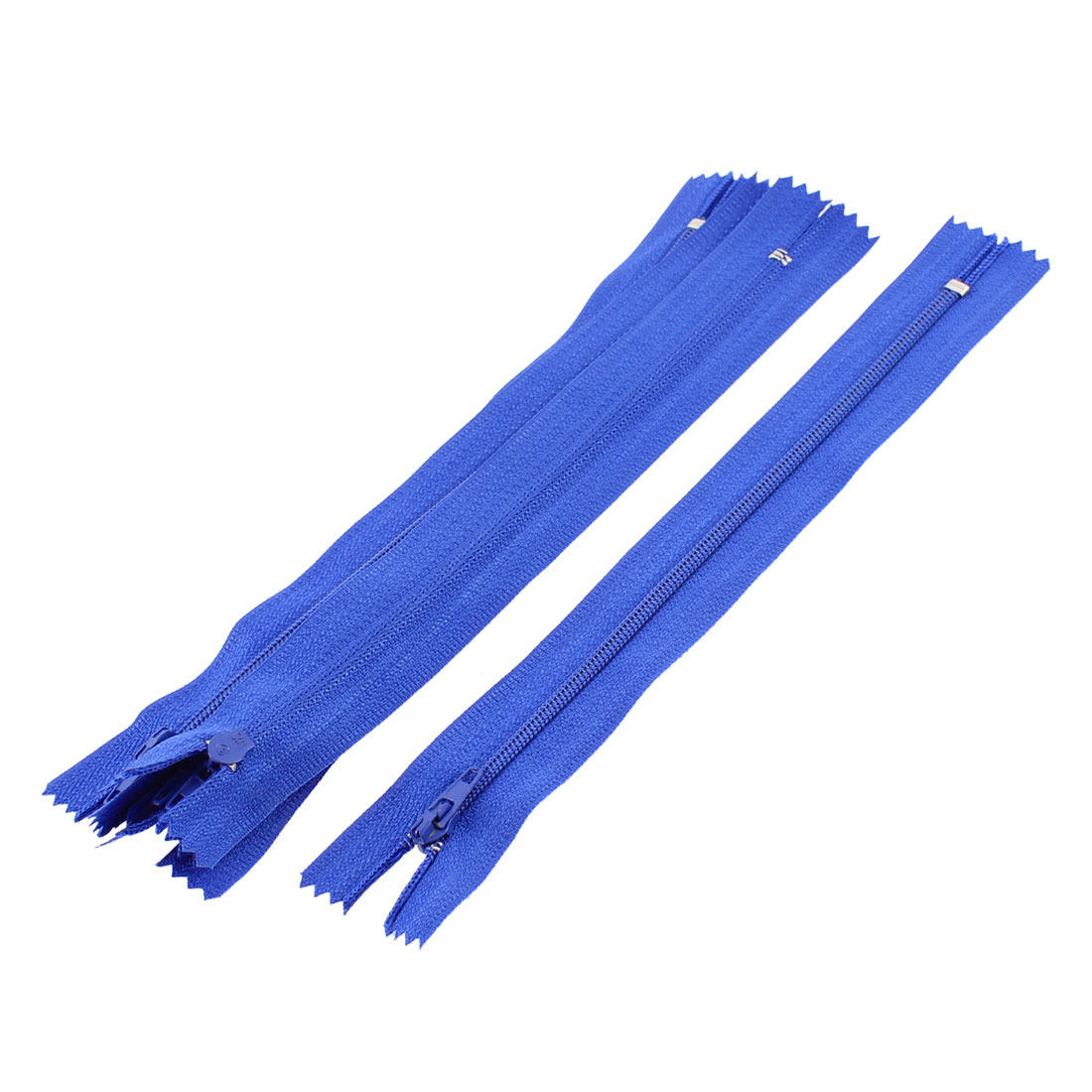 Dress Pants Closed End Nylon Zippers Tailor Sewing Craft Tool Blue 18cm 5 Pcs