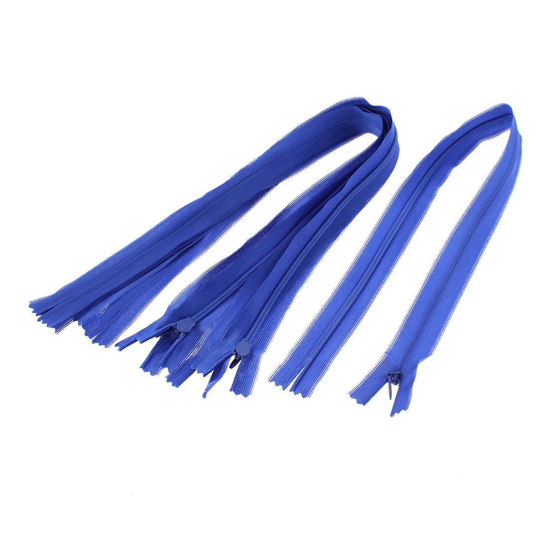 Dress Pants Closed End Nylon Zippers Tailor Sewing Craft Tool Blue 50cm 5 Pcs