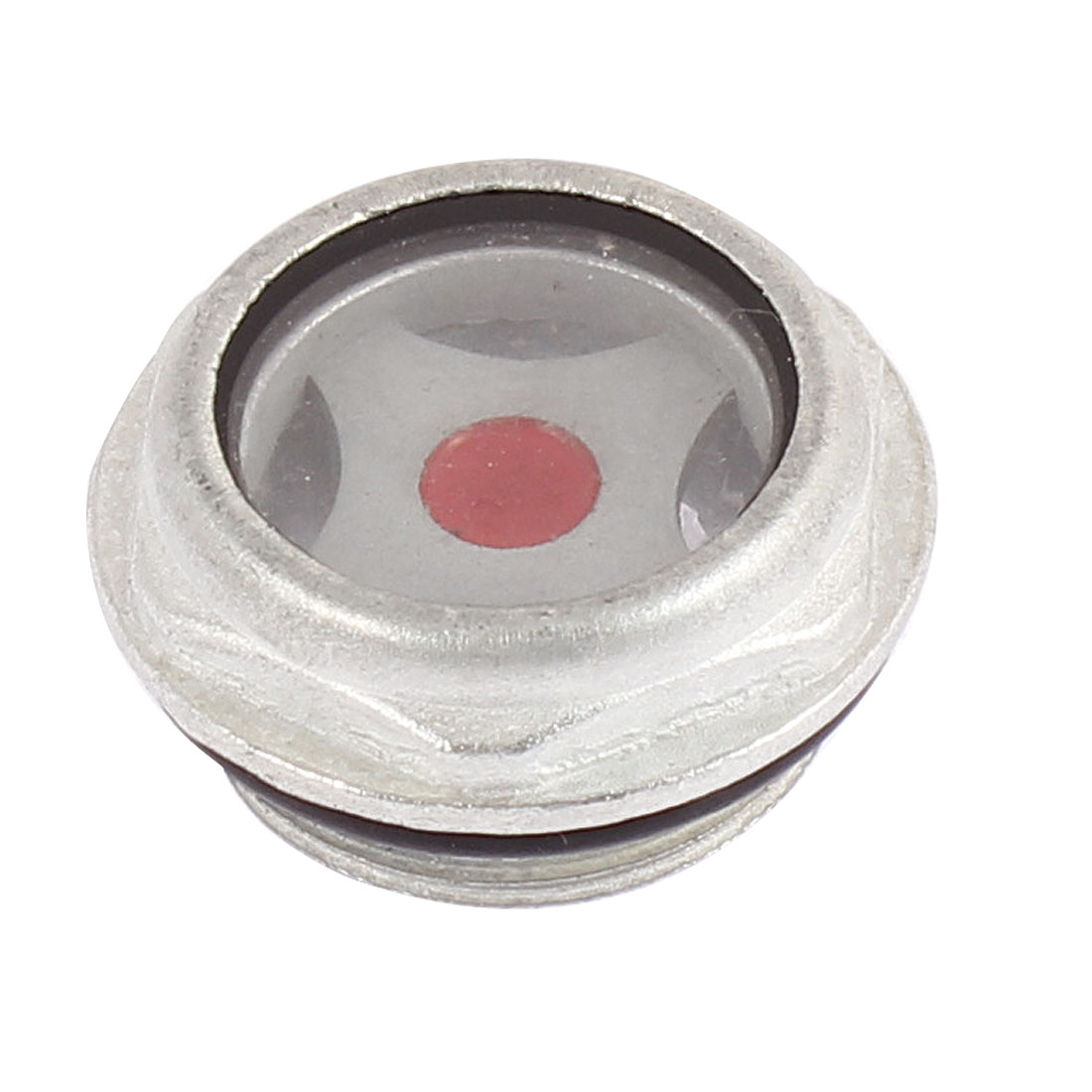 Air Compressor Rubber Washer Oil Level Sight Glass 27mm Thread Dia