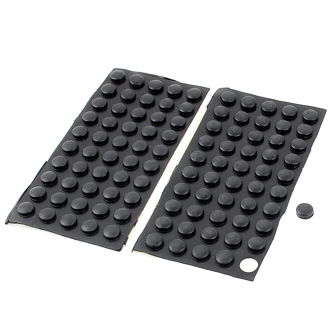 100 Pcs Round Shape Tables Chairs Anti-slip Pads Cushion Rubber Foot Mat