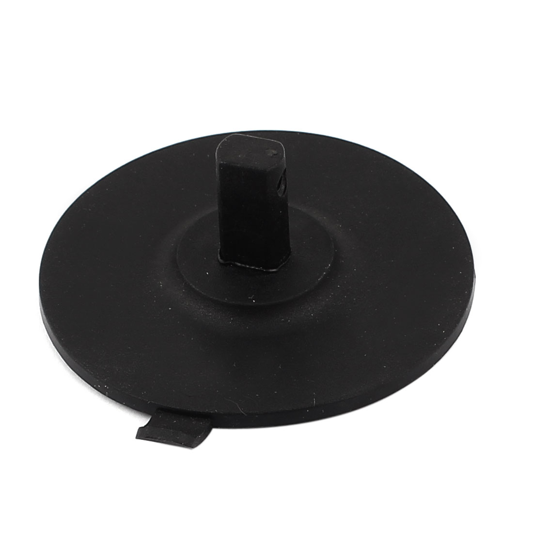 "2.8"" Diameter Black Rubber Pad Glass Circle Cutter Suction Cup"
