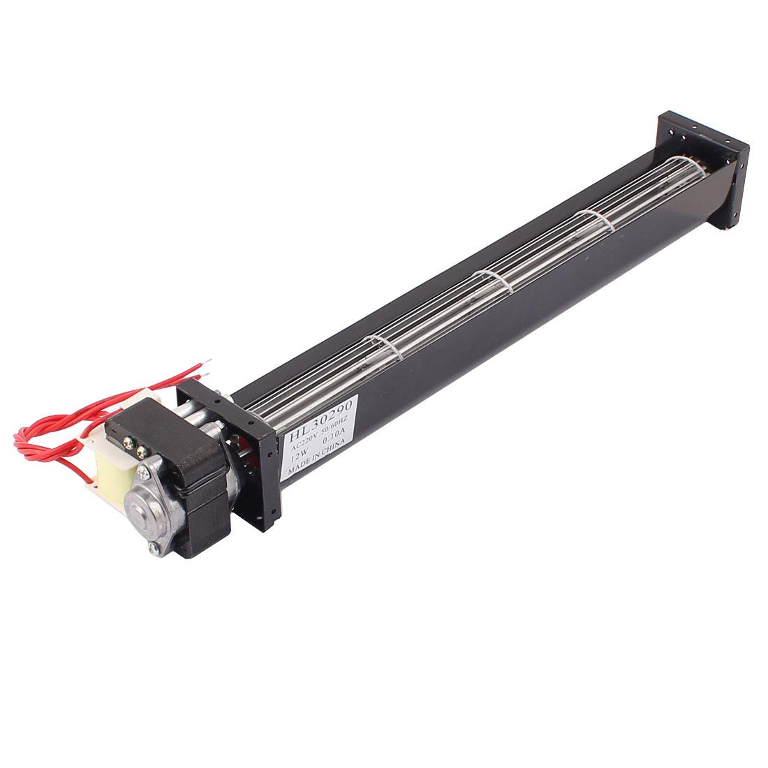 AC 220V 1.4 m3/min Cross Flow Cooling Fan Heat Exchanger Amplifier Cooler