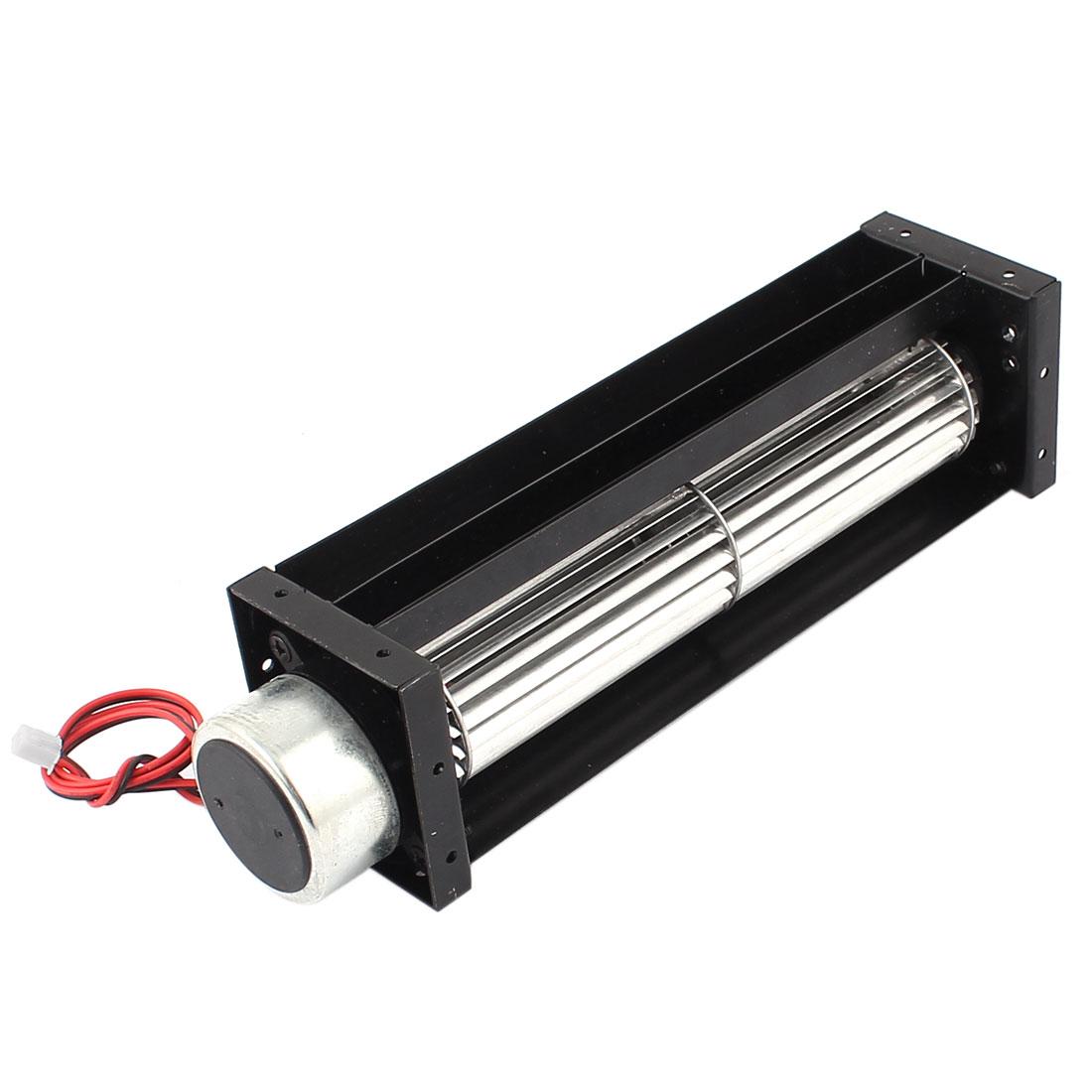 DC 12V 0.18A Cross Flow Cooling Fan Heat Exchanger Amplifier Cool Turbo