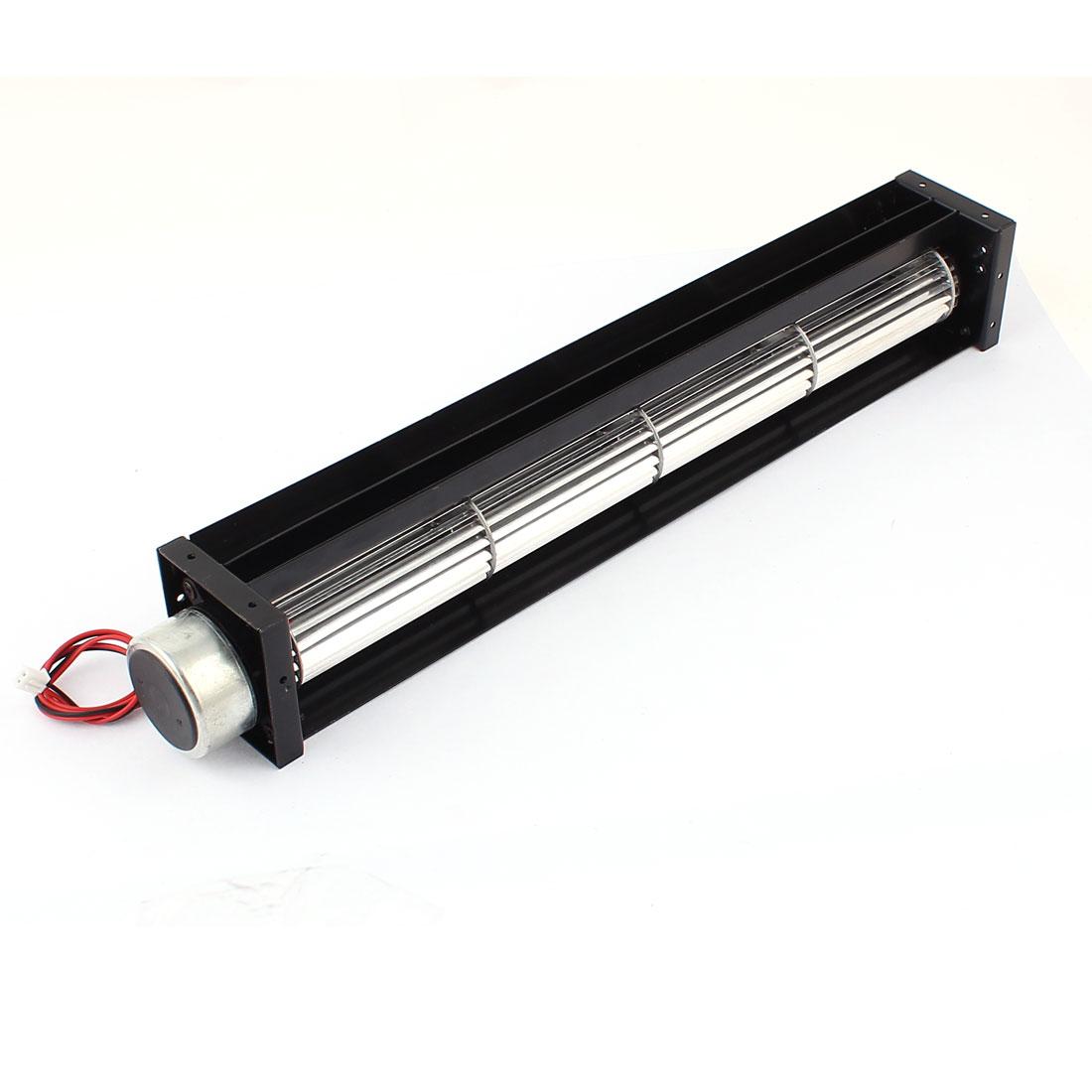 DC 12V 0.25A 3W Cross Flow Cooling Fan Heat Exchanger Amplifier Cool Turbo