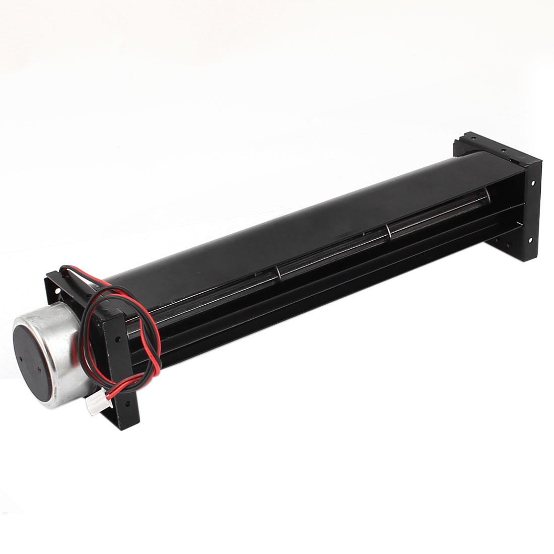 DC 12V 0.2A Cross Flow Cooling Fan Heat Exchanger Amplifier Cool Turbo