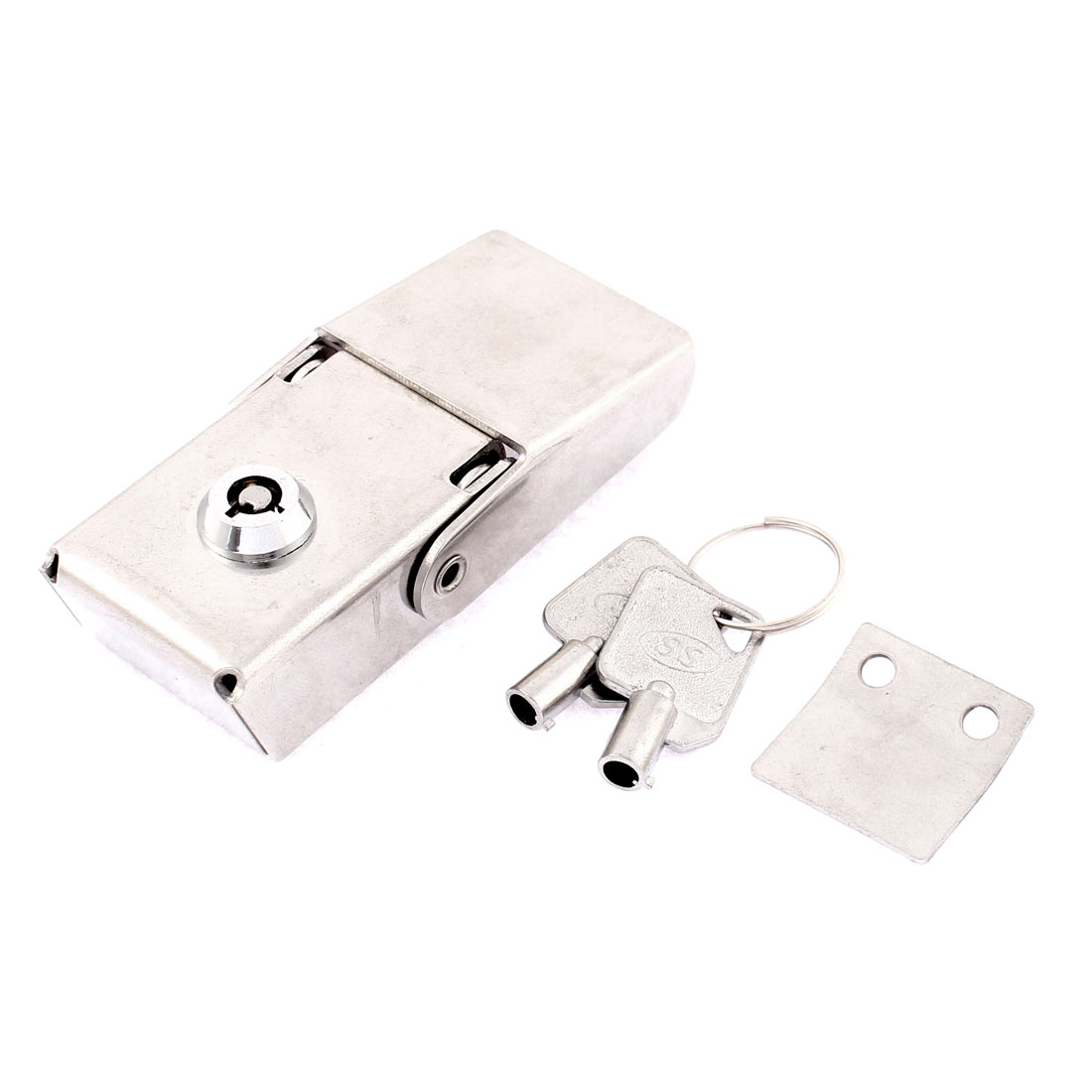 Hardware Boxes Clasp Toggle Catch Latch Silver Tone