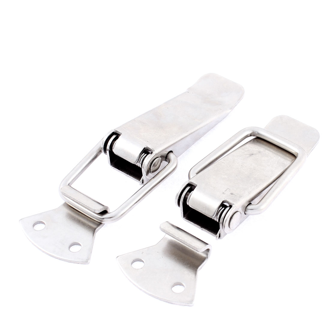 Case Box Chest Trunk Spring Loaded Toggle Latch Clamp Clip 2Pcs