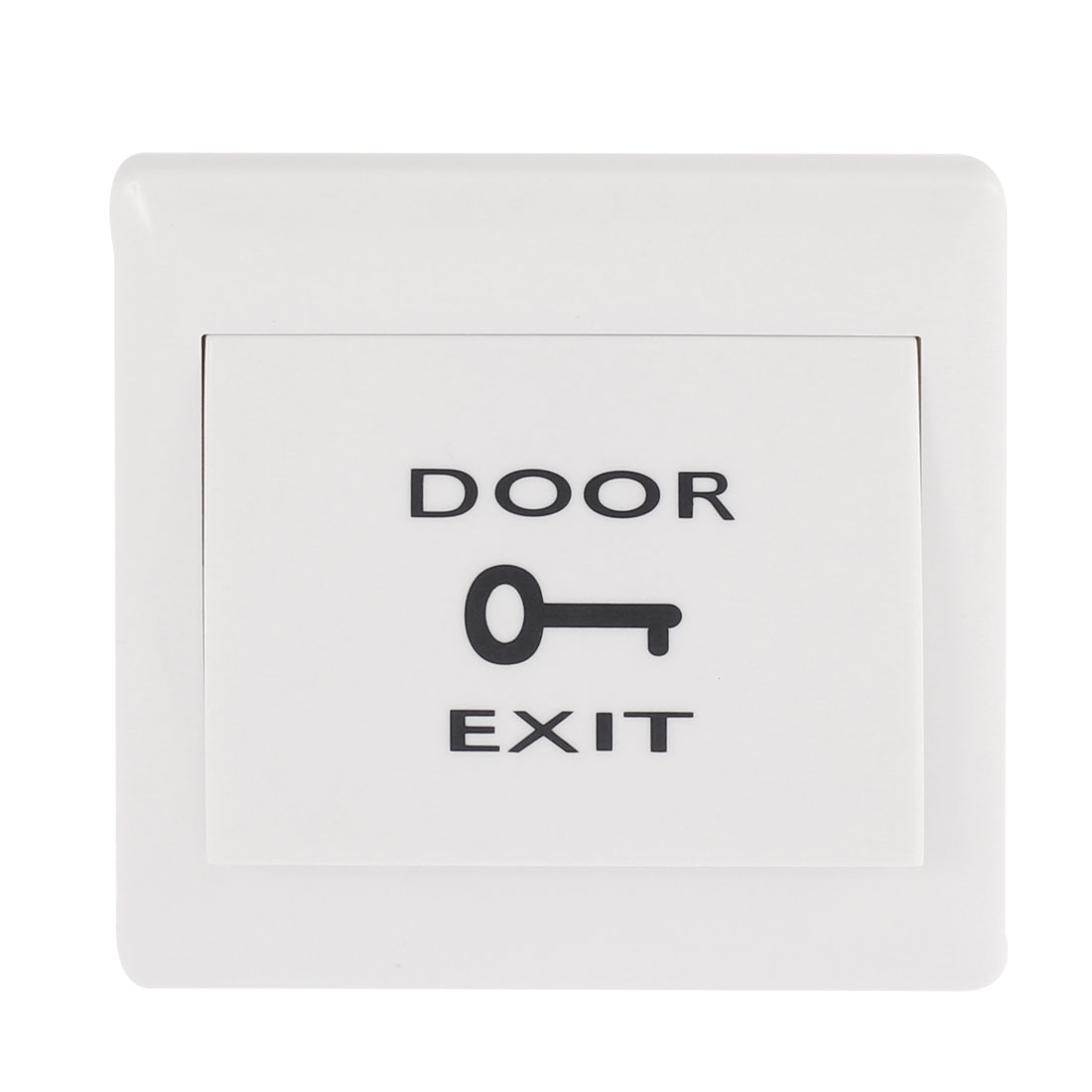 Door Electric Access Control Exit Push Release Button Switch White