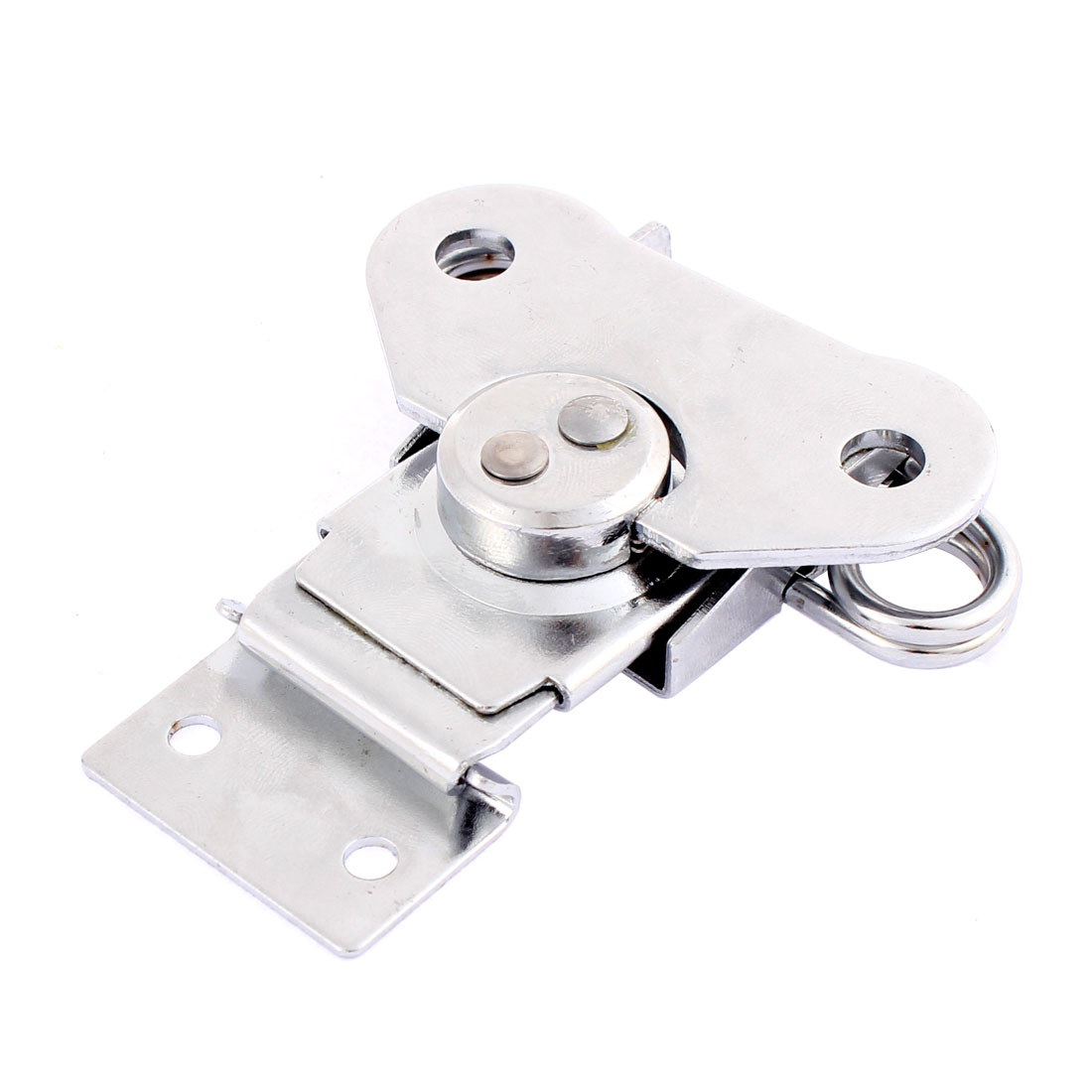 Metal Toggle Clamp Latch Hasp Silver Tone 73mm x 65mm x 15mm