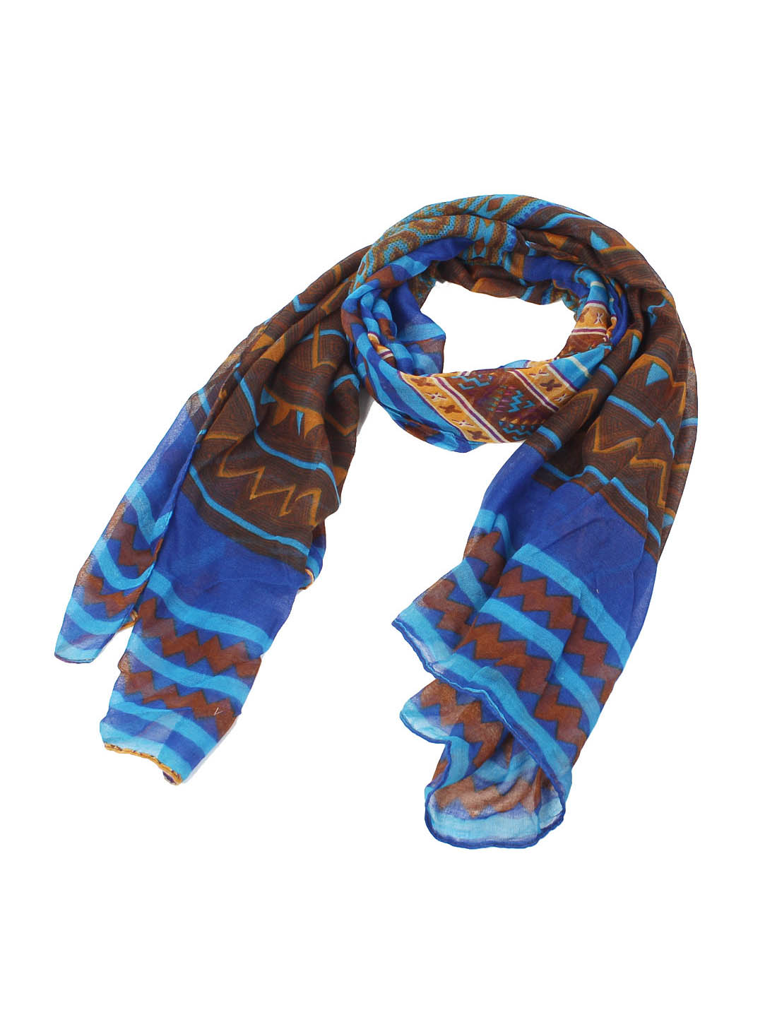 Women Lady Fashion Soft Fabric National Style Long Scarf Shawl Wrap Colorful