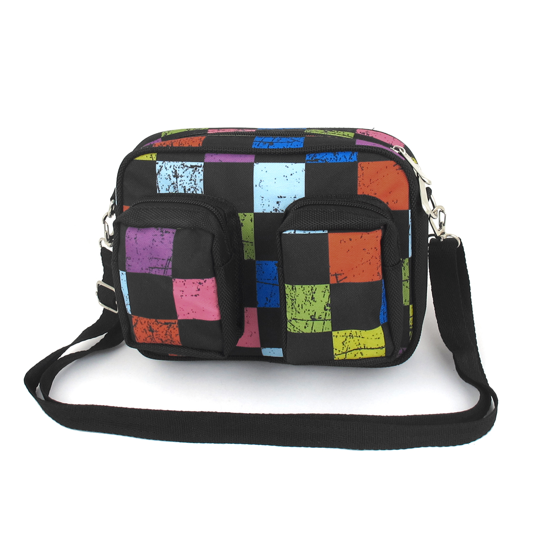 Multicolor Adjustable Shoulder Strap 2 Small Pockets Outside Tool Holder Bag 20cmx16cmx9cm