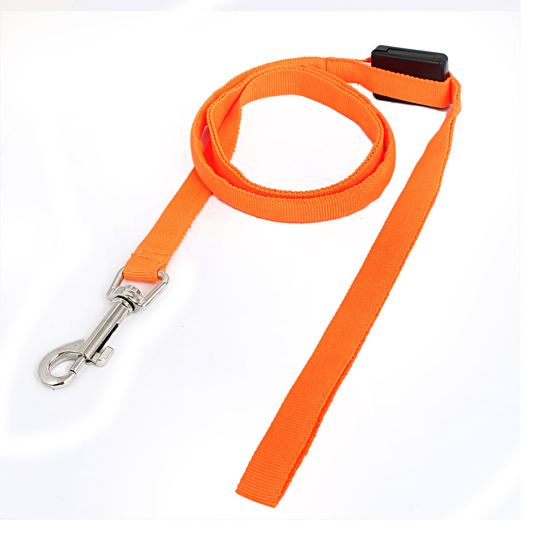 Pet Cat Dog Orange Lighting Nylon Leash Harmess Lead Strap Rope 120cm Long
