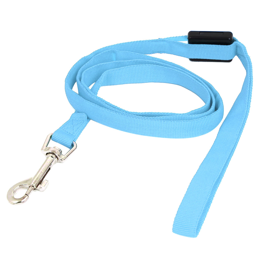Pet Cat Dog Blue Lighting Nylon Leash Harmess Lead Strap Rope 120cm Long