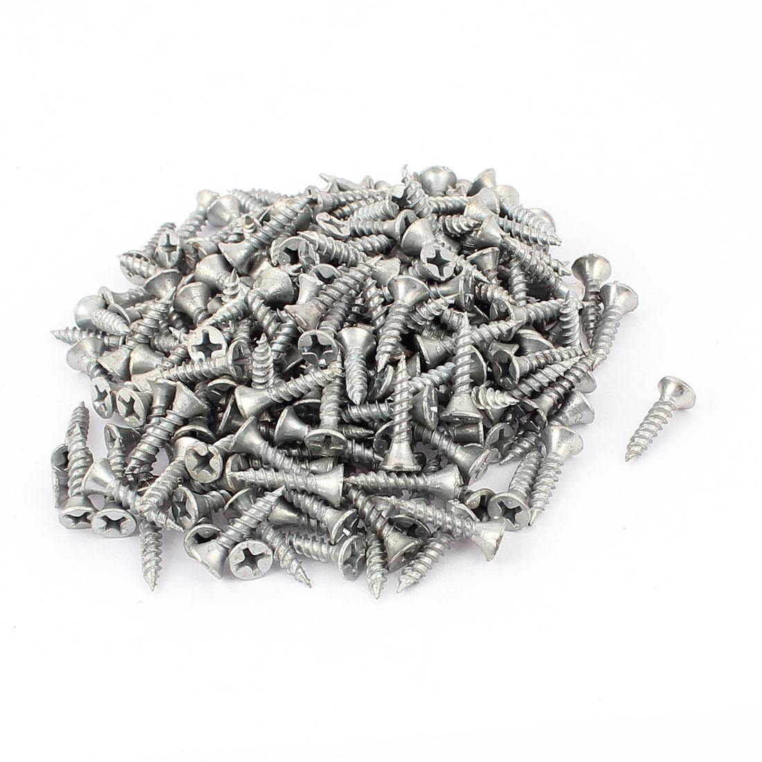230 Pcs 1mm Pitch Phillips Pan Head Self Tapping Drilling Screws Bolts M3.5x13mm