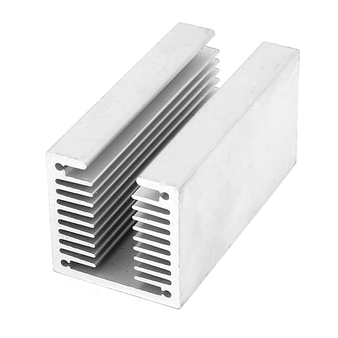 80mmx40mmx40mm U Shaped Aluminium Radiator Heatsink Cooling Fin