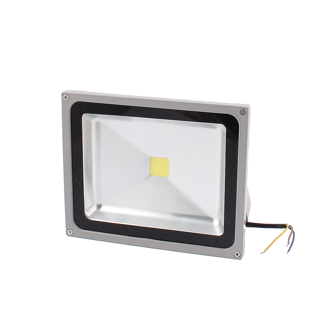 AC 90-260V 3 Wire 50W White LED Building Garden Flood Light Spotlight