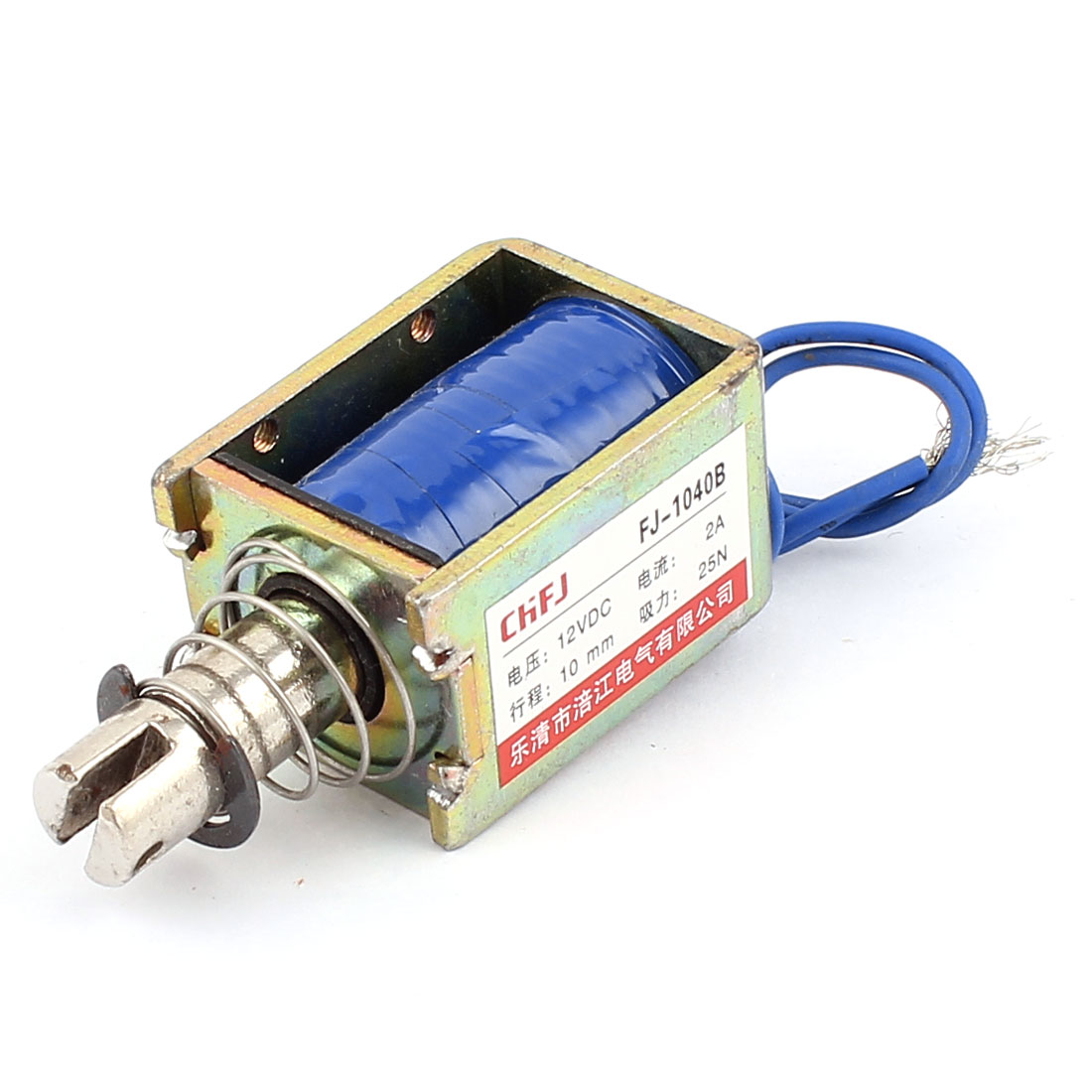 Push Pull Type DIY DC Electromagnet Magnet Solenoid 10mm 25N DC 12V 2A