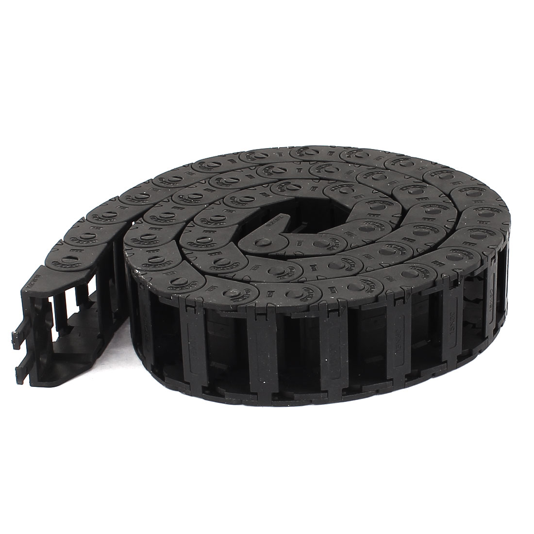 Black 1M/3.3Ft Plastic Drag Chain Cable Carrier 15mmx30mm for R28 CNC Machine