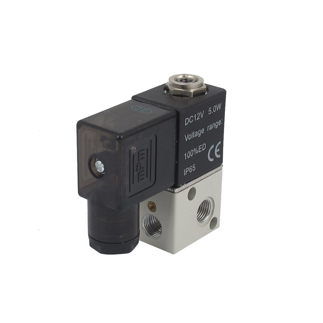 DC12V 5W 2 Position 3 Way Electrical Pneumatic Control Air Solenoid Valve