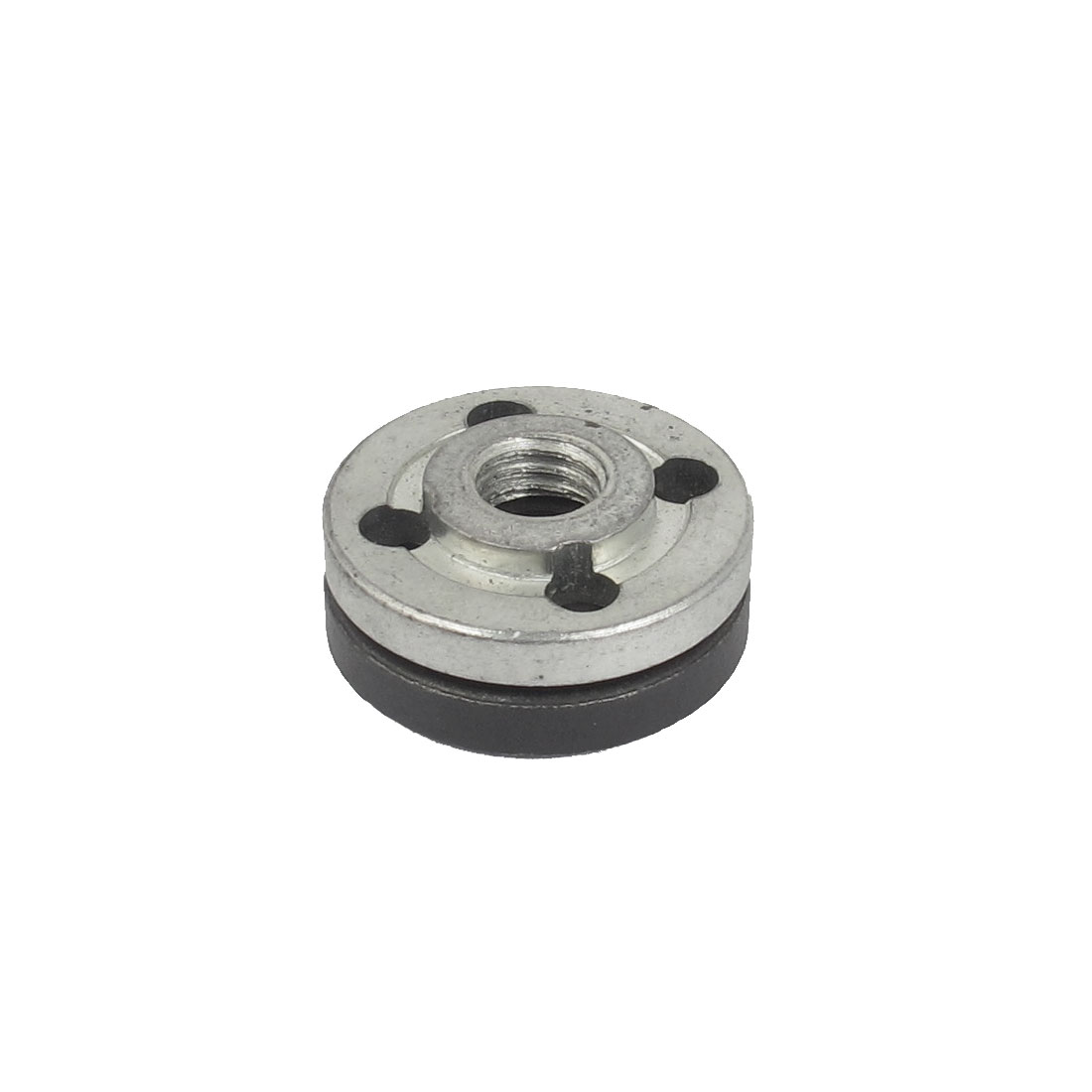 Metal Round Clamp Inner Outer Nuts Flange Fixing Pair for Bosch Angle Grinder