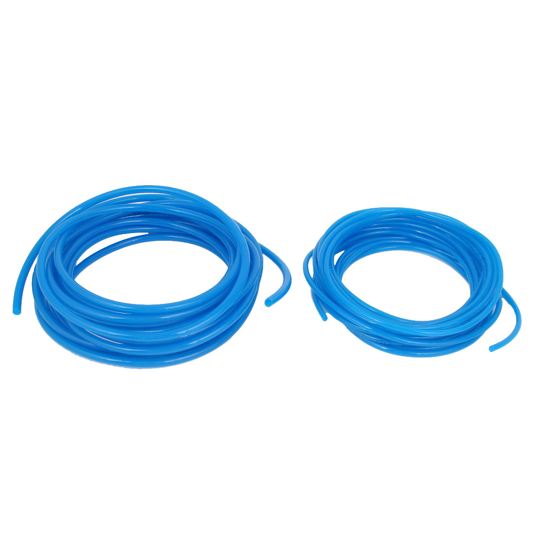 2pcs PU Polyurethane Flexible Air Tubing Pneumatic Pipe Tube Hose 20Ft Blue
