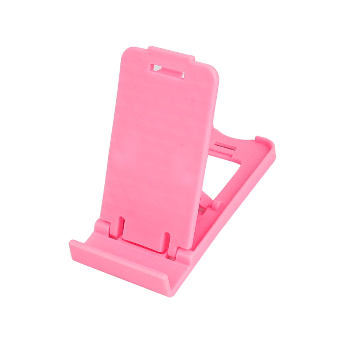 Pink Plastic Folding Desk Desktop Stand Holder Stander Support for MP4 iPad iPhone Cell Phone