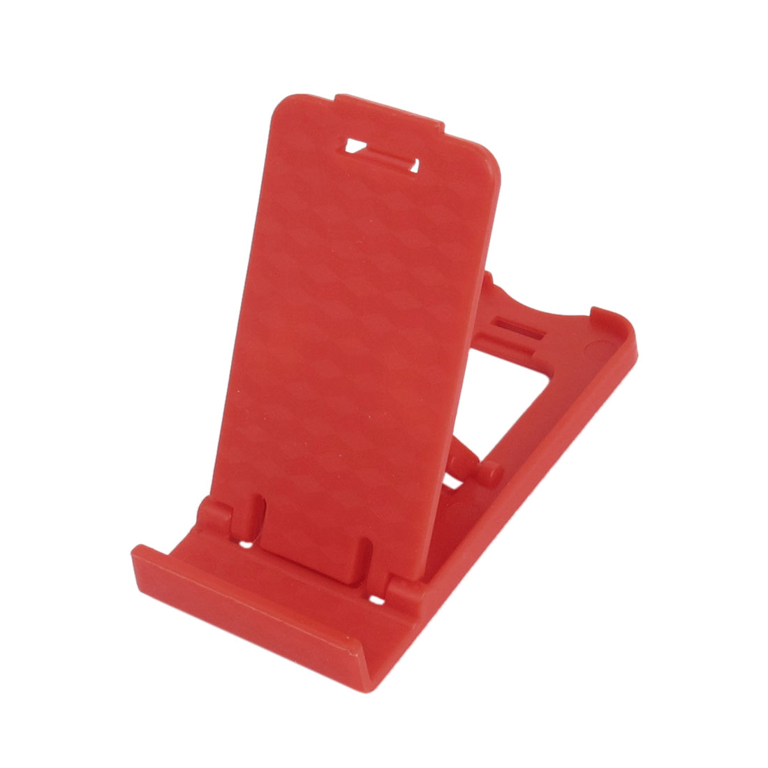Red Plastic Foldable Desk Desktop Stand Holder Stander Bracket for MP4 iPad iPhone Cell Phone