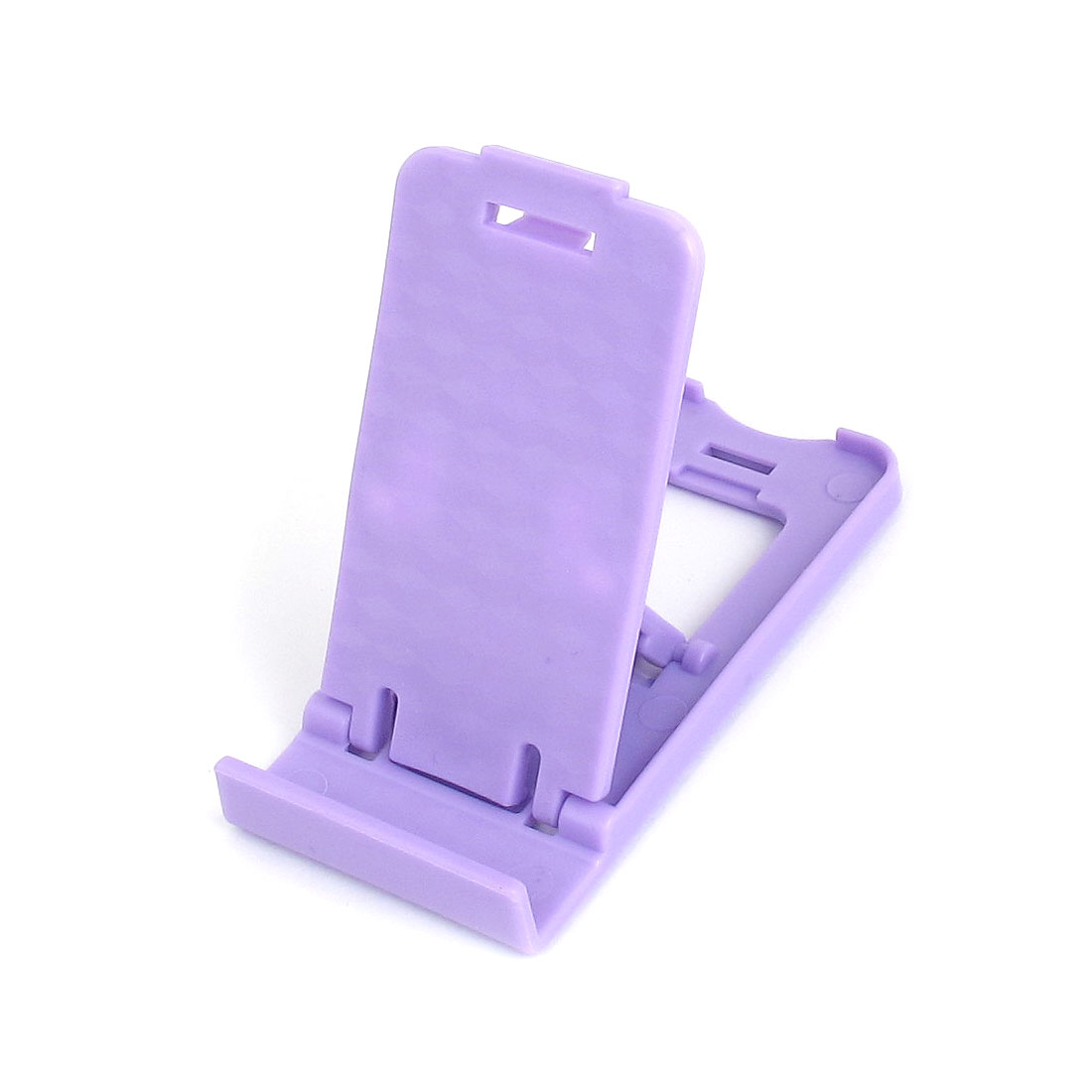 Purple Plastic Folding Stand Holder Stander Support Bracket for MP4 iPad iPhone Cell Phone