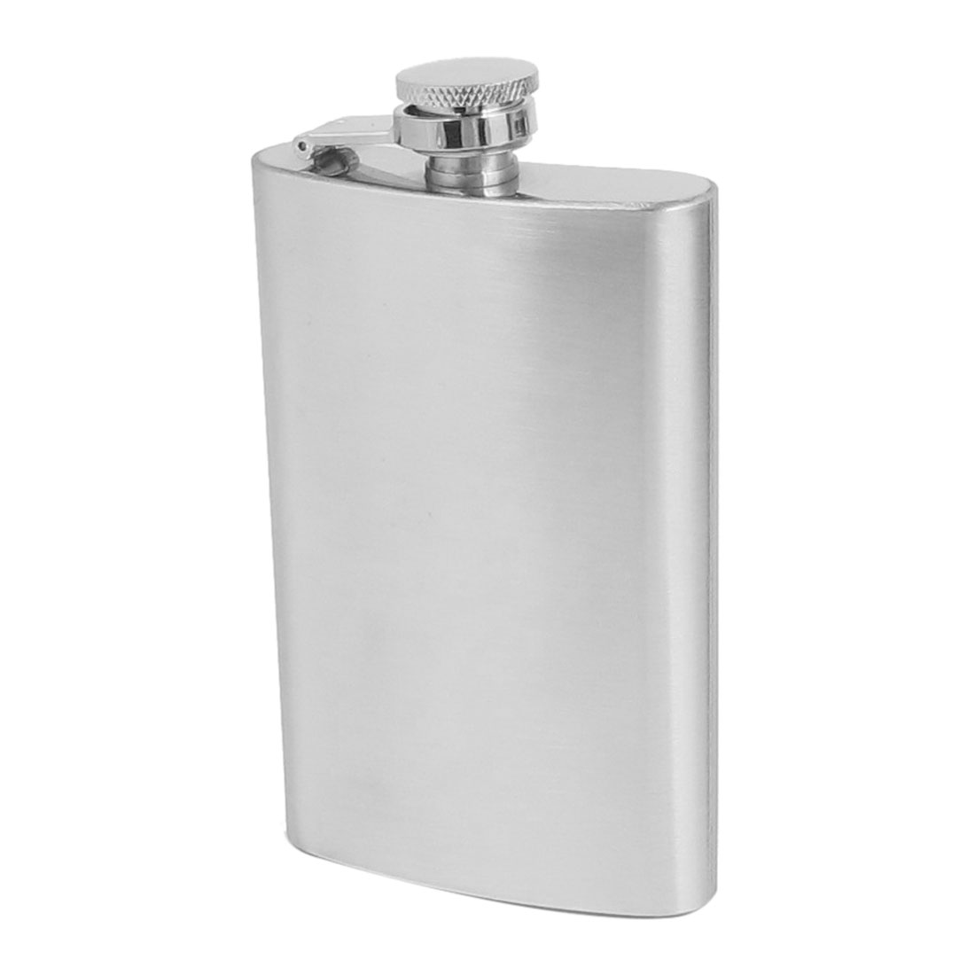 Silver Tone Stainless Steel Whisky Wine Liquor Container Holder Pocket Hip Flask 150ML 5 Oz Capacity