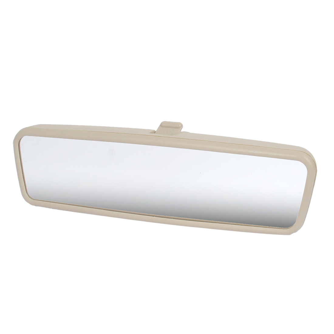 Vehicle Car Beige Plastic Shell Flat Glass Interior Rearview Rear View Mirror for Volkswagen