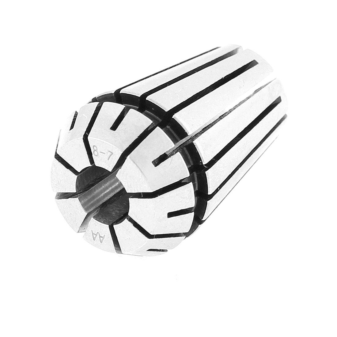ER20 8mm Stainless Steel Spring Collet Holder CNC Milling Lathe Tool 8-7mm Clamp Range