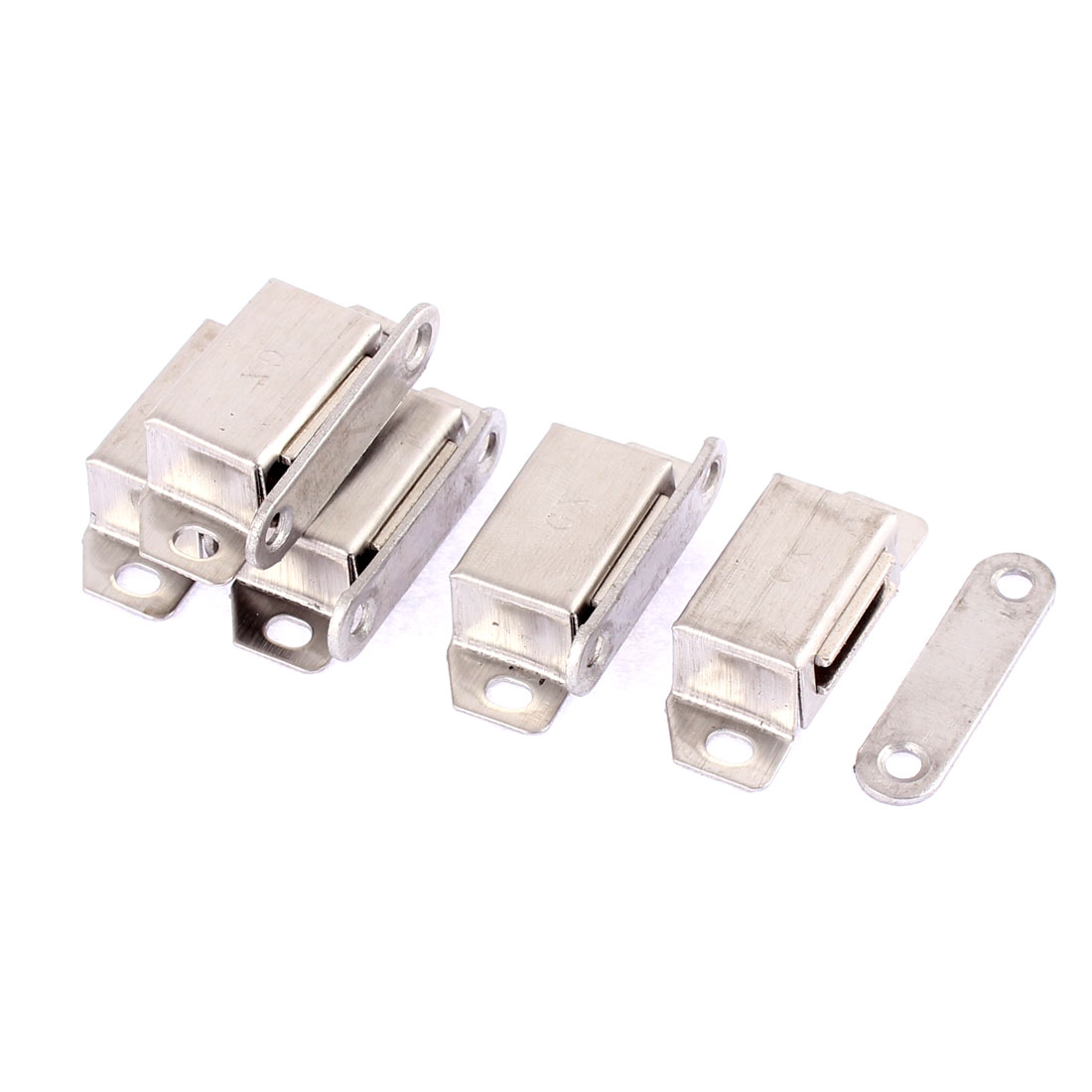 5 Pcs Cupboard Cabinet Furniture Magnetic Catch Door Latch 37mm x 16mm