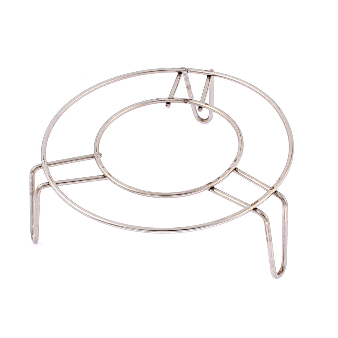 Household Stainless Steel Round Steaming Rack Stand 5 Inch x 2 Inch