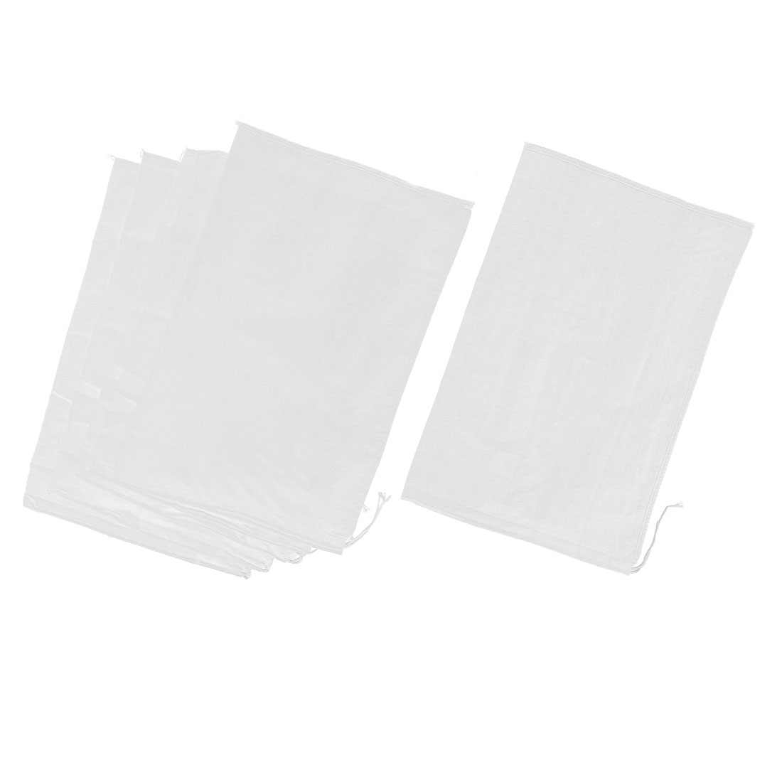 6 Pcs Kitchen Drawstring Seal Soup Food Filter Mesh Bag 17 Inch x 11 Inch