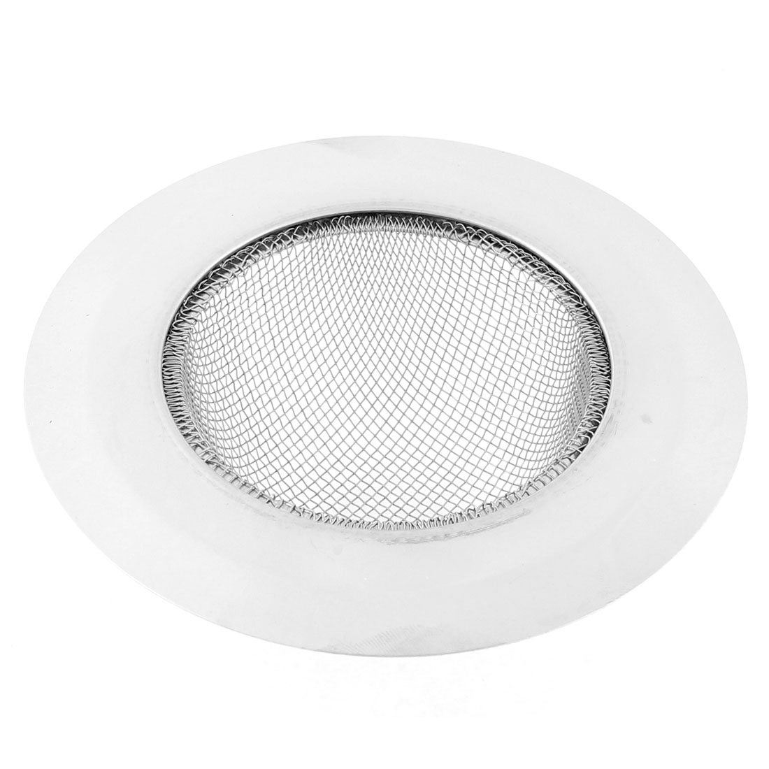 Home Stainless Steel Basin Wire Mesh Sink Strainer Drainer 11.5cm Dia
