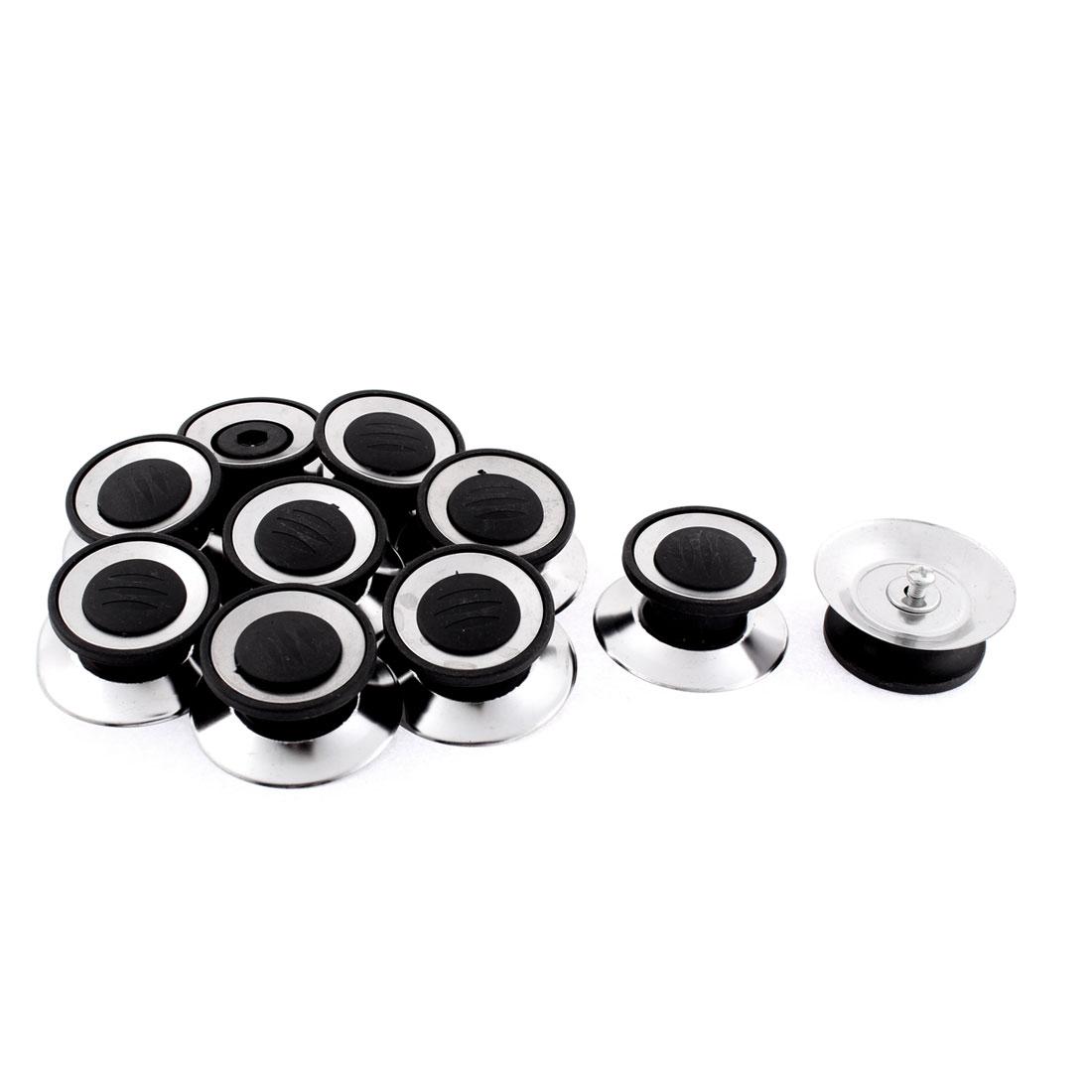 Kitchen Cookware Pot Kettle Lid Knobs Cover Handgrip 54mm Dia 10pcs