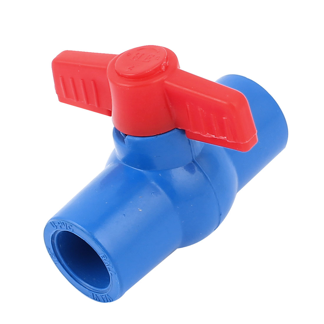 20mm to 20mm Handle Full Port Pipe Connector Adapter U-PVC Ball Valve